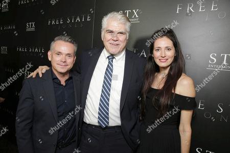 T.G. Herrington, Gary Ross, Diana Alvarez