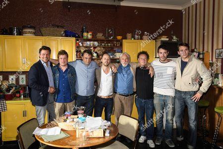 Fabian Gasmia, Pierre Richard, Stephane Robelin, Yaniss Lespert, Pierre Kiwitt