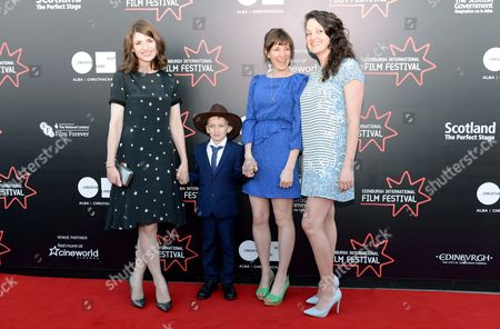Stock Photo of Jodie Whittaker, Ozzy Myers, Rachel Tunnard and Rachael Deering