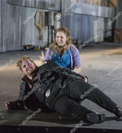 Nicky Spence as Steva, Laura Wilde as Jenufa
