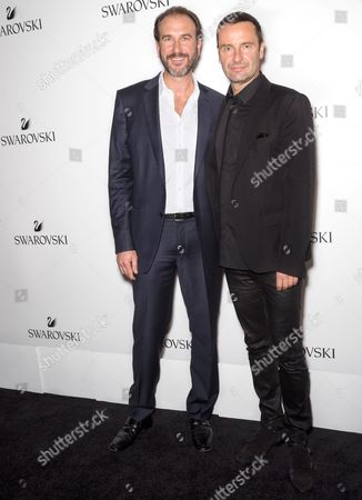Daniel Cohen (L) and Robert Buchbauer