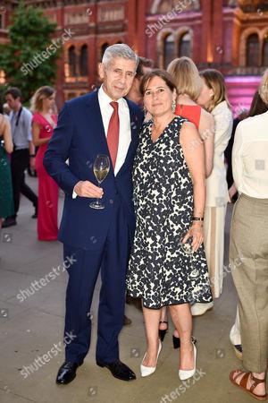 Sir Stuart Rose and Alexandra Shulman