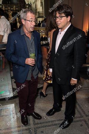 Ben Elton and Michael McIntyre