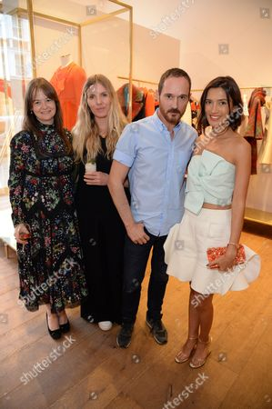 Editorial picture of Delpozo store opening, London, UK - 22 Jun 2016