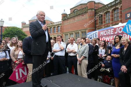 Editorial picture of EU Referendum 'Vote Remain' campaign, Birmingham, UK - 22 Jun 2016