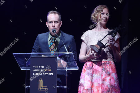 Stock Picture of Ted Leo and Portia Sabin