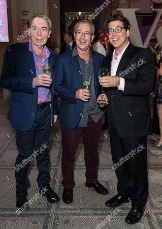 Sir Andrew Lloyd Webber, Ben Elton and Michael McIntyre