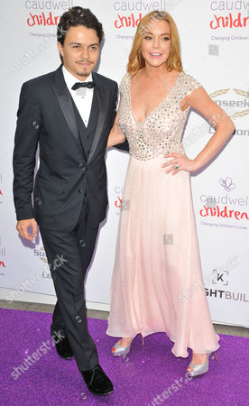 Stock Photo of Egor Tarabasov & Lindsay Lohan