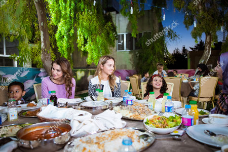 Editorial picture of Queen Rania visits the Al Hussein Social Foundation for Orphans, Jordan - 20 Jun 2016