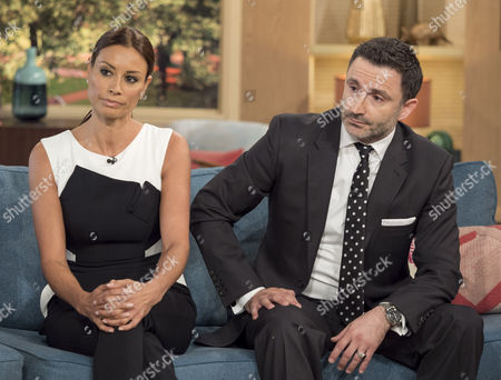 Melanie Sykes and Daniel Caltagirone