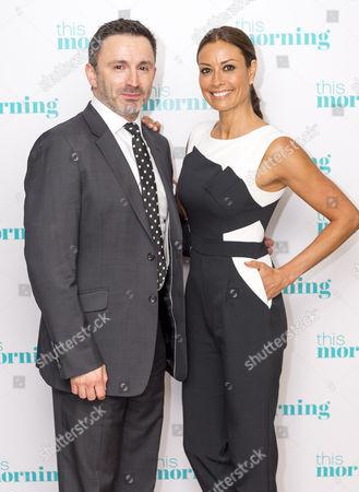 Stock Photo of Daniel Caltagirone and Melanie Sykes