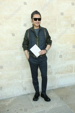 Editorial picture of Louis Vuitton show, Paris Men's Fashion Week, Spring Summer 2017, France - 23 Jun 2016