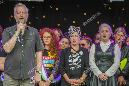 Editorial photo of Glastonbury Festival, UK - 23 Jun 2016