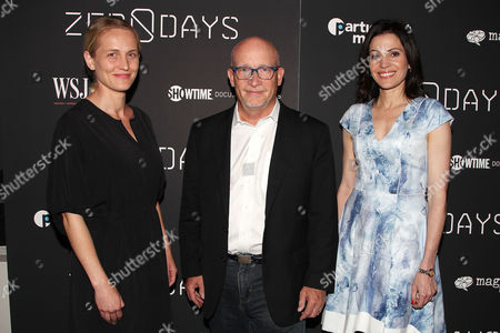 Stock Image of Joanne Tucker, Alex Gibney and Tanya Rivero