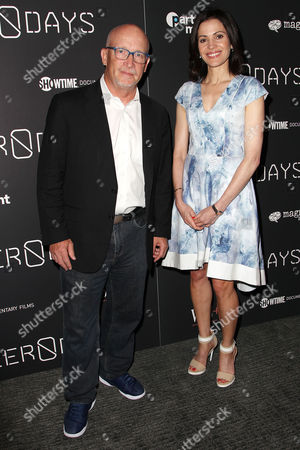 Stock Picture of Alex Gibney and Tanya Rivero