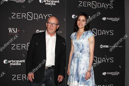 Alex Gibney and Tanya Rivero