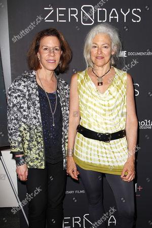 Stock Photo of Ellen Goosenberg Kent and Kate Davis