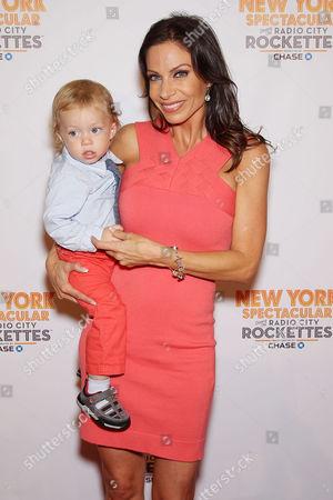 Stock Image of Jill Nicolini with son