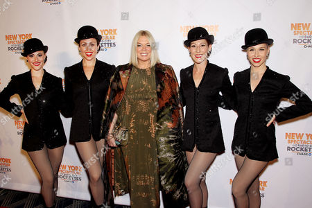 Mia Michaels (Director,Choreographer) with Rockettes