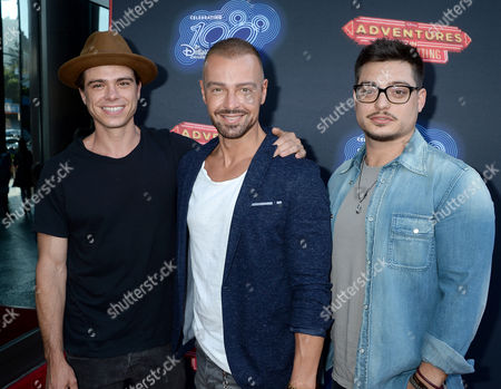 Matthew Lawrence, Joey Lawrence and Andrew Lawrence