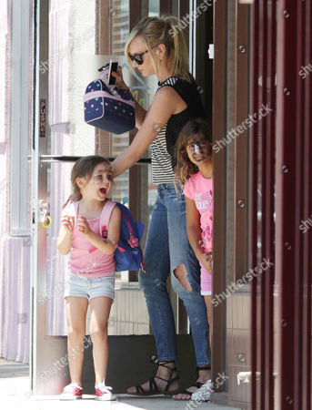 Editorial photo of Kimberly Stewart and daughter Delilah Del Toro out and about, Los Angeles, USA - 23 Jun 2016