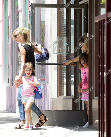 Editorial picture of Kimberly Stewart and daughter Delilah Del Toro out and about, Los Angeles, USA - 23 Jun 2016