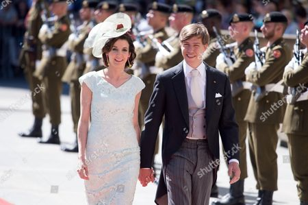 Prince Louis of Luxembourg and Princess Tessy of Luxembourg