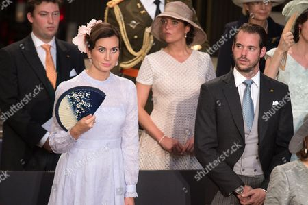 Princess Claire of Luxembourg and Prince Felix of Luxembourg