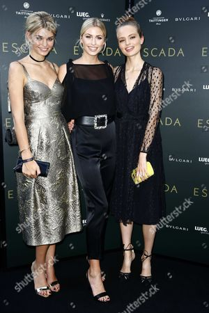 Editorial image of Escada Store Grand opening event, Dusseldorf, Germany - 23 Jun 2016