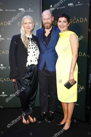 Christiane Arp (Vogue Germany), Daniel Wingate, Iris Epple-Righi