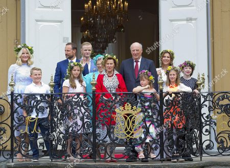 Editorial photo of 25th Anniversary of the Coronation of Sonja and Harald, Trondheim, Norway - 23 Jun 2016