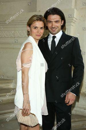 Gautier Capucon and wife Delphine Capucon