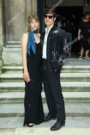 Editorial picture of Valentino show, Front Row, Paris Men's Fashion Week, Spring Summer 2017, France - 22 Jun 2016