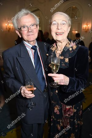 Stock Photo of Sylvia Lorden and husband