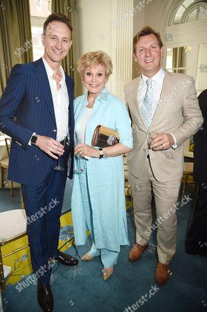 Ian Waite, Angela Rippon, Angus Forbes