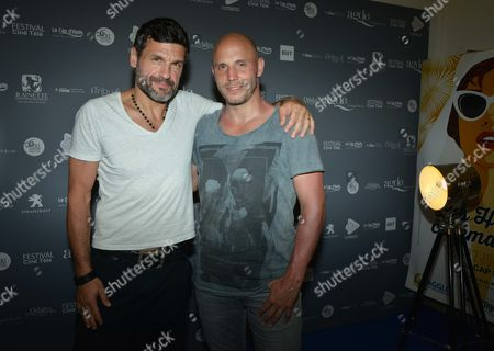 Stock Image of Christophe Heraut and David Ban