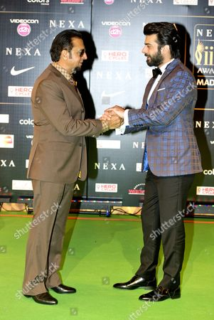 Gulshan Grover and Fawad Khan