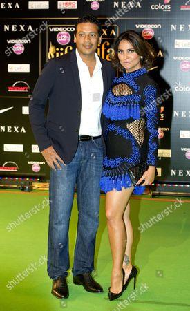 Mahesh Bhupathi and Lara Dutta