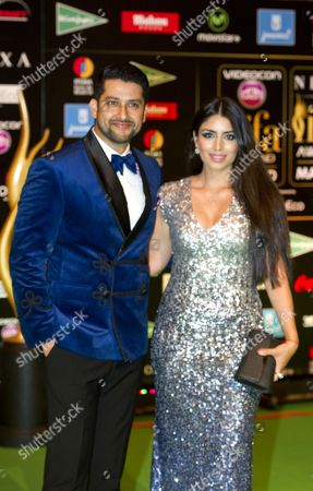 Aftab Shivdasani and guest