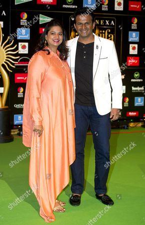 Editorial image of International Indian Film Academy Awards, Ifema, Madrid, Spain - 24 Jun 2016