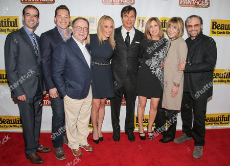 Stock Photo of Marc Bruni, Mike Bosner, Paul Blake, Dr. Jenn Mann, Eric Schiffer, Sherry Goffin Kondor, Cynthia Weil, Barry Mann