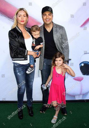 Heidi Balvanera, Jaime Camil and Family
