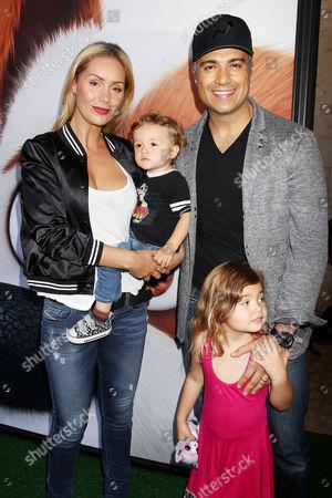 Heidi Balvanera & Jaime Camil with Family