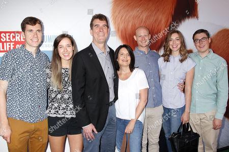 Cinco Paul with Family