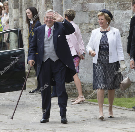 HM King Constantine and Queen Anne-Marie