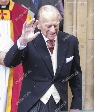Prince Philip after the wedding.