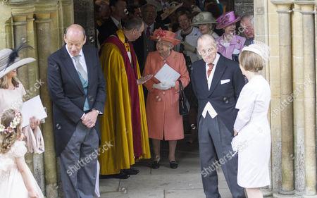 Queen Elizabeth II after the wedding