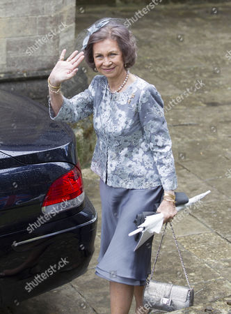 HM Former Queen Sofia of Spain.