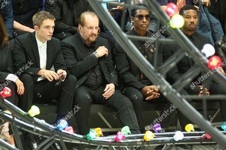 Robert Pattinson and Larry Clark