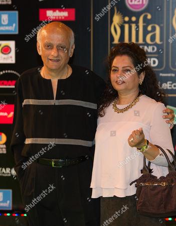 Mukesh Bhatt and guest